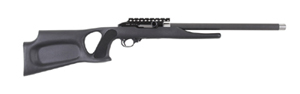 "Magnum Research Magnum Lite .22LR Rimfire Rifle MLR22AT, 22 LR, Semi-Auto,  17"" Graphite Barrel, Black Polymer Ambidextrous Thumbhole Stock, 10 +1 Rd"
