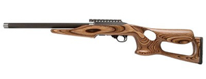 "Magnum Research Magnum Lite .22LR Rimfire Rifle MLR22BN, 22 LR, Semi-Auto, 17"" Graphite Barrel, Barracuda Nutmeg Stock, 10 + 1 Rd"