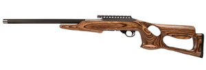 "Magnum Research Magnum Lite 22 Magnum Rimfire Rifle MLR22WMBN, 22 WMR, Semi-Auto, 19"" Graphite Barrel, Barracuda Nutmeg Stock, 9 + 1 Rd"