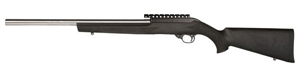 "Magnum Research Magnum Lite 22 Magnum Rimfire Rifle MLRS22WMH, 22 WMR, Semi-Auto, 18"" Stainless Steel Barrel, Hogue OverMolded Stock, 9 + 1 Rd"