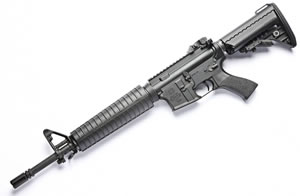 Noveske RifleWorks Light Carbine Basic Rifle RLCB556, 5.56 NATO, 14.5 in ChromeLined BBL, Gen I Lower, A2 Handguard, Vltor Collap Stock, Flip Up Rear Sight, 30 Rd