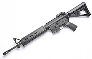 Noveske RifleWorks Light Carbine Basic MOE Rifle RLRMOE, 5.56 NATO, 16 in ChromeLined BBL, Gen I Lower, MOE Handguard & Collap Stock, Flip Up Rear Sight, 30 Rd