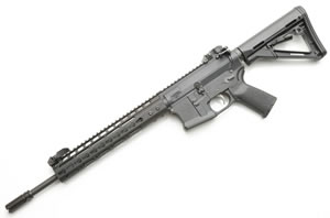 Noveske RifleWorks Thunder Ranch Special Edition Rifle RTRLC556, 5.56 NATO, 14.5 in Skinny ChromeLined BBL, w/NSR 11 in Rail, CTR Collap Stock, Flip Up Rear Sight, 30 Rd