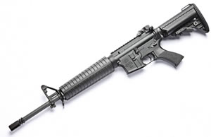 Noveske RifleWorks Light Carbine Basic Rifle RLRB556, 5.56 NATO, 16 in ChromeLined BBL, Gen I Lower, A2 Handguard, Vltor Collap Stock, Flip Up Rear Sight, 30 Rd