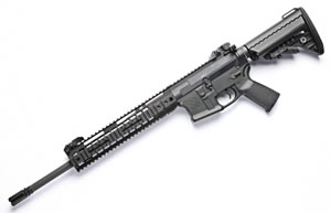 Noveske RifleWorks Light Carbine Rifle RLRLP556, 5.56 NATO, 16 in ChromeLined BBL, LoPro 11 in Rail, Vltor Collap Stock, Flip Up Sights, 30 Rd
