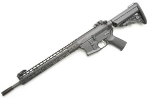 Noveske RifleWorks Light Carbine Rifle RLRLP556N, 5.56 NATO, 16 in ChromeLined BBL, w/NSR 13.5 in Rail, Vltor Collap Stock, Flip Up Sights, 30 Rd