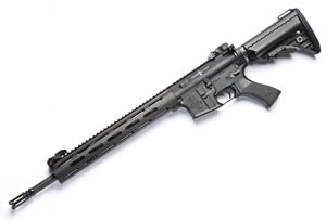 Noveske RifleWorks Light Recce VTAC Combat Carbine Rifle RLRVTAC556, 5.56 NATO, 16 in ChromeLined BBL, 13 in VTAC Alpha BattleRail, Vltor Collap Stock, Flip Up Sights, 30 Rd