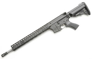 Noveske RifleWorks Rogue Hunter Rifle R16RH68, 6.8 SPC, 16 in LW Stainless BBL, w/NSR 13.5 in Rail, Vltor Collap Stock, Flip Up Sights, 30 Rd