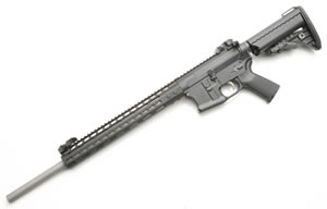 Noveske RifleWorks Medium Varmint Rifle R20556N, 5.56 NATO, 20 in Stainless BBL, w/NSR 13.5 in Rail, Vltor Collap Stock, Flip Up Sights, 30 Rd