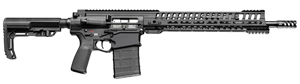 "POF-USA P308 EDGE Gen 4 Regulated Gas Piston Recon Rifle 01222,308 Win/7.62 NATO, 18.5"" BBL, MFT Adj Stock, 14.5"" M-LOK Rail, Burnt Bronze Finish, 20+1 Rd, New 2017 Model"