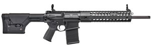 "Sig Sauer Model 716 DMR Rifle R716H18BDMR, 7.62x51, 18"" BBL, Semi Auto, Black Telescoping Stock, Black Finish, 20 + 1 Rd"
