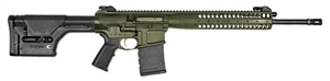 LWRC REPR Gas Piston Rifle REPR7ODG20, 7.62 Nato/.308 Win, 20 in Heavy BBL,Magpul PRS Stock, Folding BUIS Sights, Geissele Trigger, 2-Pos Gas Block, OD Green Finish, 20 Rd, Estim