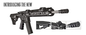 DPMS 3G2 Competition Rifle RFA33G2, 223 Rem/5.56, 16 in, Black Finish
