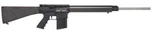 DPMS Long Range Lite Rifle RFLR308LRL, 308 Win, 24 in Hbar Stainless Barrel, Semi-Auto, A2 Fixed Stock, Black Finish, 5 Rd