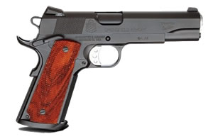 Springfield Professional 1911-A1 Pistol PC9111, 45 ACP, 5 in, Wood Grips, Akote Finish, Tritium Night Sights, 7 Rd, 2 Mags, Custom Shop