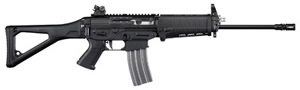 Sig Model 556 Patrol Rifle R55616BPRD, 223 Rem./5.56 Nato, Semi-Auto, 16 in, Swiss Style Folding Stock, Black Finish, 30 + 1 Rd