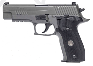"Sig Sauer P226 Legion Pistol E26R-40-LEGION , 40 S&W, 4.4"" BBL, Single/Double, Black G10 Grips, X-Ray3 Sights, Gray PVD Finish, 12+1 Rds"