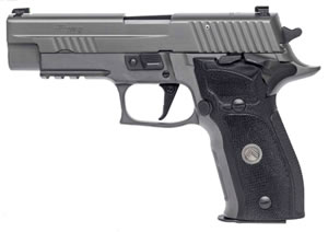 "Sig Sauer P226 Legion SAO Pistol 226R-9-LEGION-SAO, 9mm, 4.4"" BBL, Single Act, Black G10 Grips, X-Ray3 Sights, Gray PVD Finish, 10+1 Rds"