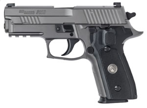 "Sig Sauer P229 Legion Pistol E29R-40-LEGION, 40 S&W, 3.9"" BBL, Single/Double, Black G10 Grips, X-Ray3 Sights, Gray PVD Finish, 12+1 Rds"