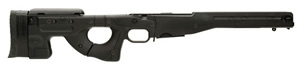 Accuracy International AICS Chassis System AICS-300 for Remington 700, .300 Chassis, Fixed Stock, Adj Cheek Piece, 5Rd