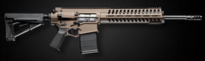 "POF-USA Model P308 Gen 4 Regulated Gas Piston Recon Rifle 00698, 308 Win/7.62 NATO, 16.5 in Fluted BBL, Magpul Adj Stock, 11"" M.R.R. Rail, Burnt Bronze Finish, 20+1 Rd"