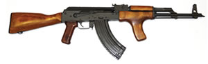 Century Arms GP 1975 Rifle RI2118-X, 7.62X39, 16.25 in BBL, Semi-Auto, Wood Stock, Blk Finish, w/Flash Hider & Bayonet Lug, 30 Rds