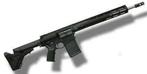 CORE 30 TAC LR Rifle 100547, 308 Win, 18 Stainless Match Grade BBL, Semi-Auto, Magpul UBR Adj Stock, Blk Finish, 20 Rds
