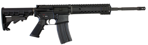 Diamondback DB15B Tactical Rifle DV-15 B, 223 Rem/5.56 Nato, Semi-Auto, 16 in Chrome-Moly Barrel, Adjustable Stock, Black Anodized Finish, No Sights,  30+1 Rds