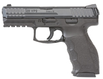 HK Model VP9 LEM Striker Fire Pistol 700009LE-A5, 9mm, 4.09 in BBL, Semi-Auto, Interchangeable Backstraps Grip, Night Sights, Black Finish, 15+1 Rd