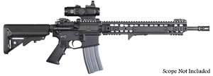 "Knights Armament  SR-15E3 IWS Carbine MOD I Rifle 30351, 5.56 Nato, 16"" Chrome-Lined BBL, URX 3.1 13.5"" Rail, 2-Stg Trigger, Iron Sights, Adj Sopmod Stock, Black, 30 Rd"