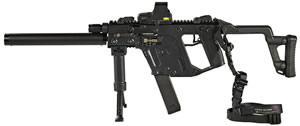 KRISS Super V Vector CRB/SO Rifle System TacPac Package KWCRS0800202, 45 ACP, Semi-Auto, 16 in BBL, Black Finish, 13 Rd, w/Eotech Scope
