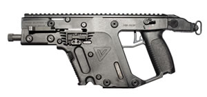 KRISS Super V Vector SDP Pistol System KSDPB0800101, 45 ACP, Semi-Auto, 5.5 in Threaded BBL, Black Finish, 13 Rd