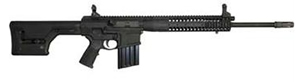 LWRC REPR Rapid Engagement Precision Gas Piston Rifle REPRR7CK20, 7.62 Nato, 20 in BBL, Magpul PRS Stock, LWRC Folding BUIS Sights, Black, 20 Rd