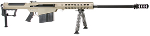 Barrett Model M107A1 Rifle System 14559, .50 BMG, Semi-Auto, 29 in Fluted BBL, Suppressor Ready Muzzel Break, Tan Cerakote Finish, 10 Rd, 1-4 Week Delivery