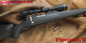 McMillan Prodigy Hunting Rifle PR270WSM-24, 270 WSM, Bolt Action, 24 in BBL 1x10 Twist, Matte Black Finsh, 4 Rd
