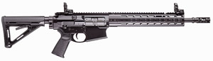 PWS MK2 Mod1 Gas Piston Rifle M214RC1BCA, .308 Win/7.62 Nato, 14.5 in BBL, Semi-Auto, Magpul MOE Adj Stock, 12 in KeyMod Rail,  Blk Finish, Pinned FSC30 Brake, 10 Rds, CA Model