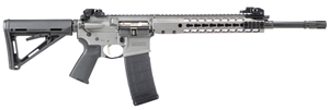 "Barrett Model REC7 GEN II Piston Operated Rifle System 14560, 223 Rem/5.56 Nato, 16"" Chrome-Lined BBL, Barrett Rail, Semi-Auto, Tungsten Grey Finish, 30 Rd, 1-3 Week Delivery"