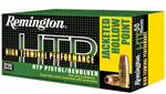 Remington High Terminal Performance Ammunition RTP45AP2, 45 ACP, Jacketed Hollow Point, 185 Gr, 500 Rd Case