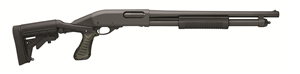 Remington Model 870 Tactical Shotgun 81404, 12 Ga, Pump, Blk Knoxx Stock, Blk Finish, 6 + 1 Rds