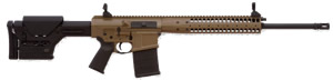 LWRC REPR Gas Piston Rifle REPR7PBC20, 7.62 Nato/.308 Win, 20 in Heavy BBL, Magpul PRS Stock, Folding BUIS Sights, Geissele Trigger, 2-Pos Gas Block, Patriot Brown Finish, 20 Rd, 1-2 Weeks Delivery