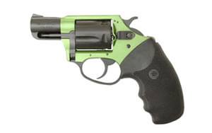 "Charter Arms Shamrock Revolver 53844, 38 Special, 2"" BBL, Green/Black Finish, 5Rd"