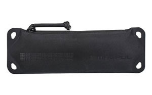 "Magpul Industries DAKA Suppressor Pouch, Black, Reinforced Polymer Fabric, Size- Small (9.25""x3""), Fits Rimfire Sized Suppressors MAG875-001"