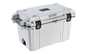 Pelican Pelican, Elite Cooler, Cooler, White/Gray, Hard 70Q-1-WHTGRY