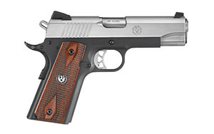"Ruger SR1911 Pistol 06711, 45 ACP, 4.25"" BBL, Stainless Finish, 7Rd"