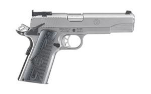 "Ruger SR1911 Pistol 06736, 45 ACP, 5"" BBL, Stainless Finish, 8Rd"