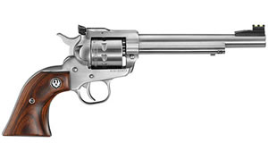 "Ruger Single-Six Revolver 08150, 22WMR, 6.5"" BBL, Stainless Finish, 9Rd"