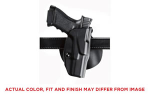 Safariland Model 6378 ALS Paddle Holster, Fits Glock 17/22 with Light, Right Hand, STX Tactical Black Finish 6378-832-131