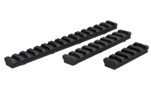 "VLTOR KeyMod Rail Section Kit, Includes (1) 2"", (1) 4"",and (1) 6"" Rail Section, Picatinny, Black KM-RAILS"