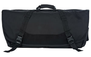 "Vertx Delivery Messenger Double Rifle Case, Medium, Black, 30"" x 15"" x 4"", Fits 2 rifles up to 28"" Overall Length F1 VTX5060 BK NA"