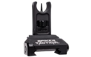 Spike's Tactical Front Folding Micro Sight, Generation 2, Black Finish SAS81F1